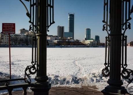 Zima w Kolei Transsyberyjskiej fot. © Ivo Dokoupil, Barents.pl