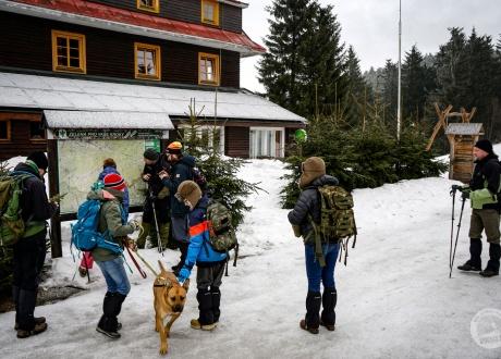 Śladami rysia i wilka w Beskidach pogranicza Czesko-Słowackiego fot. © Paweł Gardziej, Barents.pl