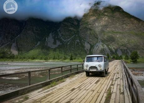 Ałtaj - Najładniejsze góry Syberii © Roman Stanek, Barents.pl