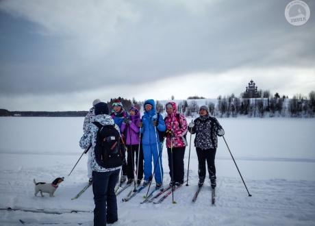 Karelia: Wyprawa na biegówkach po nieznanej Rosji fot. © dla Barents.pl
