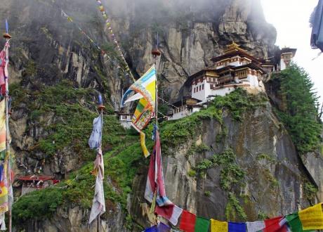 Tygrysie Gniazdo. Rowerem przez Himalaje: Bhutan. fot. @ Jboots