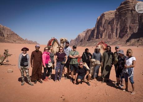 Jordania: Petra i Wadi Rum fot. © Pawerł Gardziej, Barents.pl