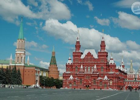 Plac Czerwony w Moskwie. Wycieczka Koleją Transsyberyjską © Ivo Dokoupil dla Barents.pl