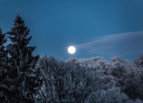 Podróżniczy Sylwester w Górach Bystrzyckich fot. © Sylwia Kozłowska, Wataszka