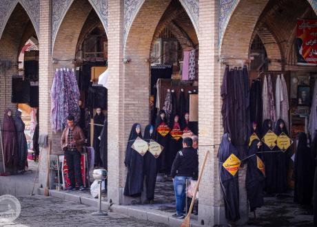 Irańskie ulice. Majówka w Iranie © Bartek Krzysztan, Barents 2017