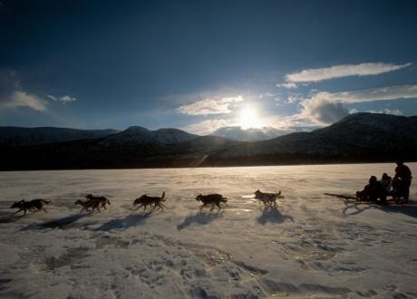 Szwecja: na biegówkach przez doliny Kungsleden fot. © Staffan Widstrand, imagebank.sweden.se
