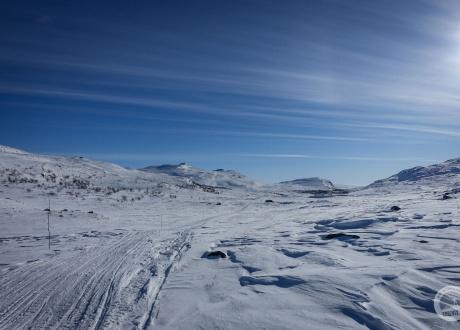Prognozowane warunki: śnieg kopny i zmrożony :-) fot. © Mateusz Kuszela, Barents.pl