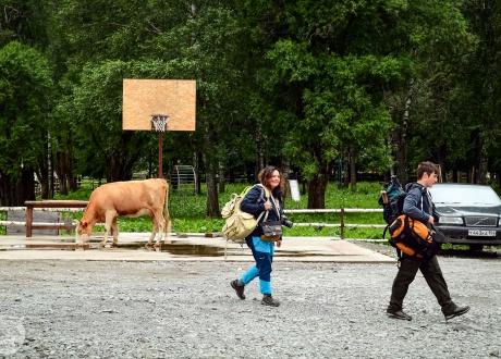 Rowerem po najładniejszych górach Syberii - Ałtaju fot. © Grzegorz Wieniawa z Barents.pl