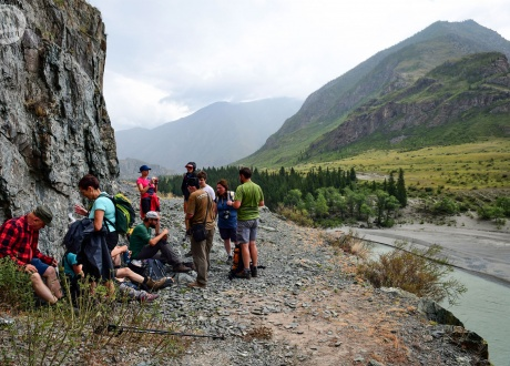 Trekking w najładniejszych górach Syberii fot. @ Grzegorz Chmielewski z Barents.pl