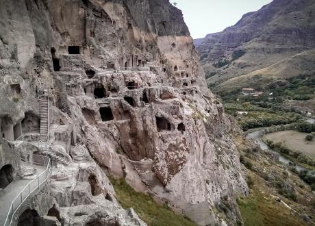 Dawit Garedża - kompleks monastyrów wydrążonych w skale © Barents.pl Gruzja i Armenia: To, Co Najlepsze Z Kaukazu