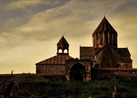 Klasztor Gandzasar to ormiański klasztor położony w Górskim Karabachu niedaleko wioski Vank. Armenia i Górski Karabach: piękno krainy pod Araratem. © Barents.pl