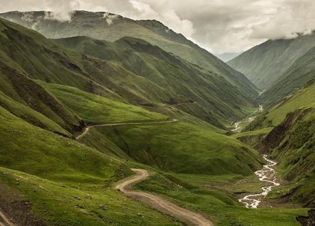 Trekking w Tuszetii i Chewsuretii fot. © Magda Konik, Barents.pl